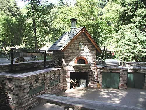 Backyard Kitchen, Outdoor Stove Outdoor Kitchens Tom Ralston Concrete Santa Cruz, CA