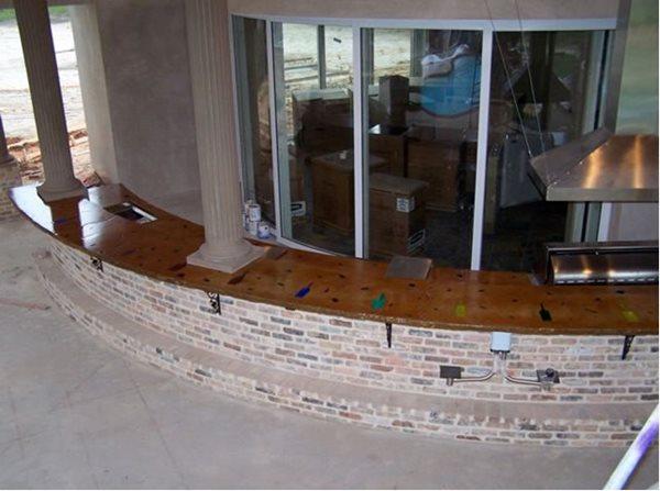 Outdoor Kitchens Concrete Countertops By Crane Covington, LA