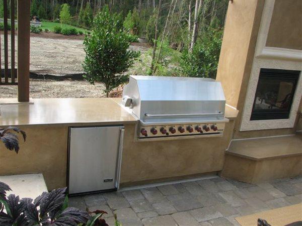 Outdoor Kitchens Creative Custom Concrete Concepts LLC Anacortes, WA