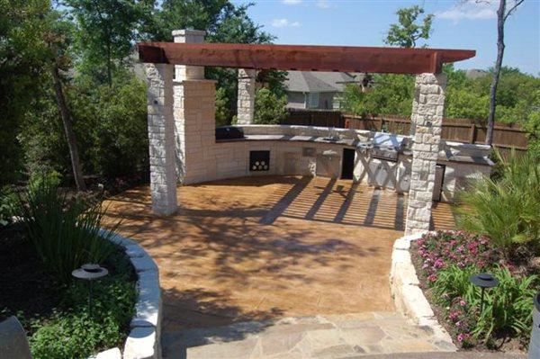 Outdoor Kitchens Exquisite Concrete Designs College Station, TX