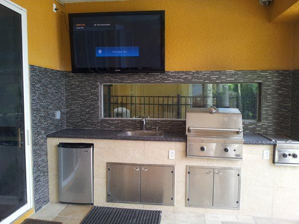 Fractured Edge Outdoor Kitchens Visual Artisan, LLC Kissimmee, Fl