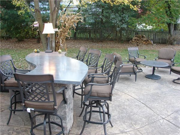 Outdoor Kitchens J&H Decorative Concrete LLC Uniontown, OH