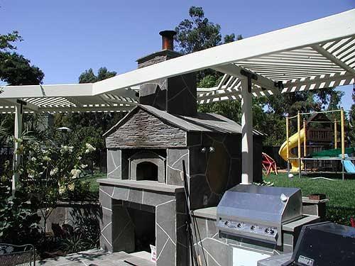 Outdoor Stove, Fireplace Outdoor Kitchens Tom Ralston Concrete Santa Cruz, CA