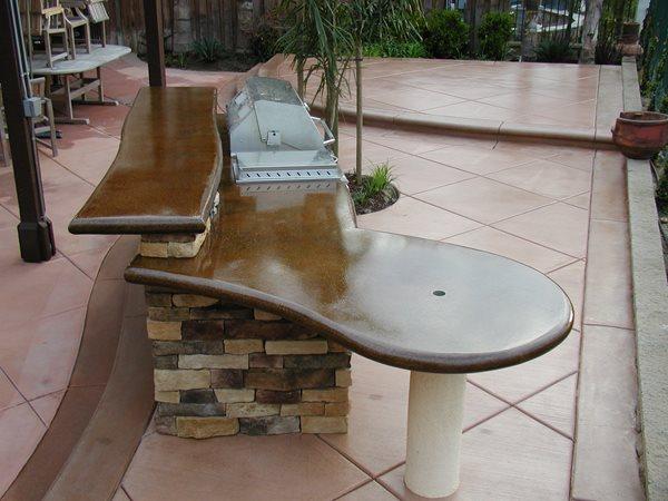 Sleek, Bbq Bar Outdoor Kitchens Surfacing Solutions Inc Temecula, CA
