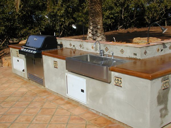 Spanish Style, Bbq Outdoor Kitchens Surfacing Solutions Inc Temecula, CA