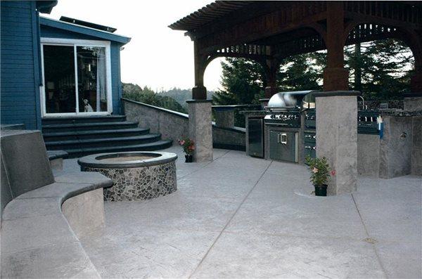 Outdoor Kitchens Tom Ralston Concrete Santa Cruz, CA
