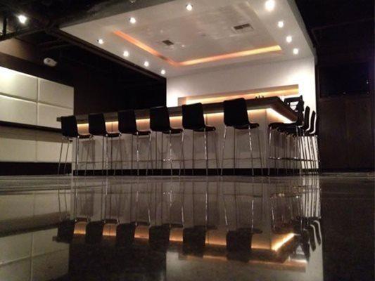Bar, Polished Floor Polished Concrete DIACON Concrete Manteca, CA