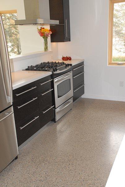 Garage, Store, Polish, Polished Polished Concrete Productions Team, Inc. Sheridan, AR