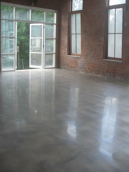 Glossy, Shiny Polished Concrete Diamondtech, Inc Plains, PA