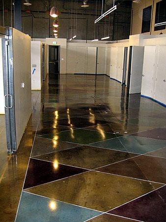 Hallway, Polished Concrete Polished Concrete Demmert & Associates Glendale, CA