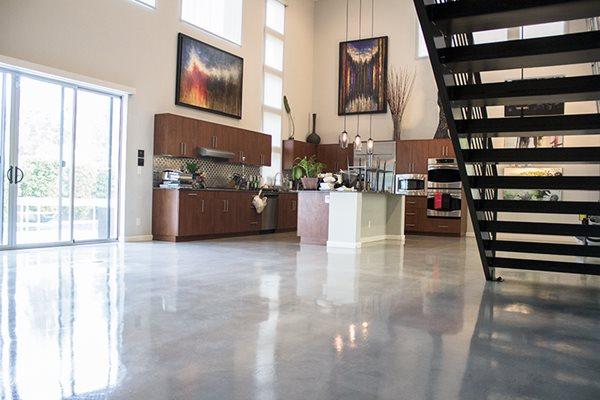 Loft Floors, Polished Floors Polished Concrete Sleek Floors Inc Henderson, NV