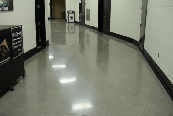 Polish, Hall Way Polished Concrete Total Polish Solutions Knoxville, TN