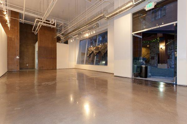 Polished Commercial Floor, Polished Concrete After Polished Concrete Evolution Industries Verdi, NV