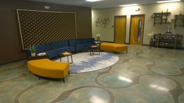 Polished Concrete Award, Legacy Learning Studios Polished Concrete Concrete Mystique Engraving Antioch, TN
