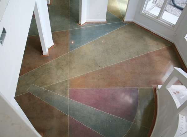 Polished Concrete Floor Polished Concrete Artistic Surfaces Inc Indianapolis, IN