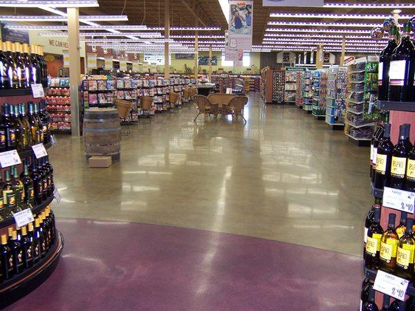 Polished Concrete Floor, Commercial Concrete Floor Polished Concrete Concrete Treatments Inc Albertville, MN