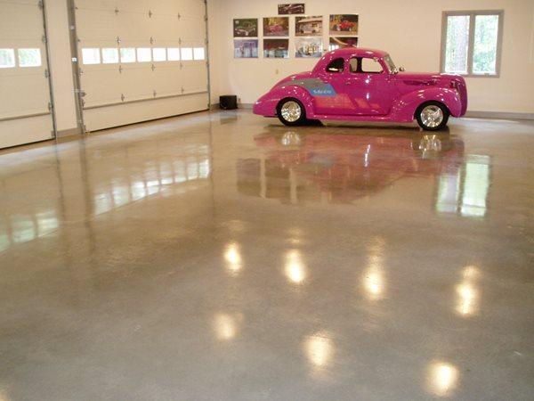 Polished Concrete, Polished Garage Floor, Concrete Polished Concrete Deco-Crete, LLC Richmond, VA