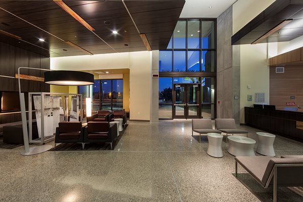 Polished Floor Exposed Aggregate Polished Concrete T.B. Penick & Sons, Inc. San Diego, CA