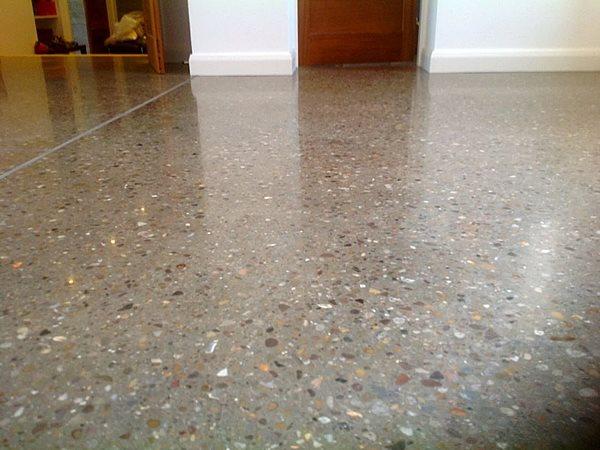Polished Floor, Large Aggregate Polished Concrete Stratec Ltd Winnipeg, MB