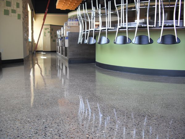 Polished Floor Reflection Polished Concrete Advanced Concrete Staining Oregon City, OR