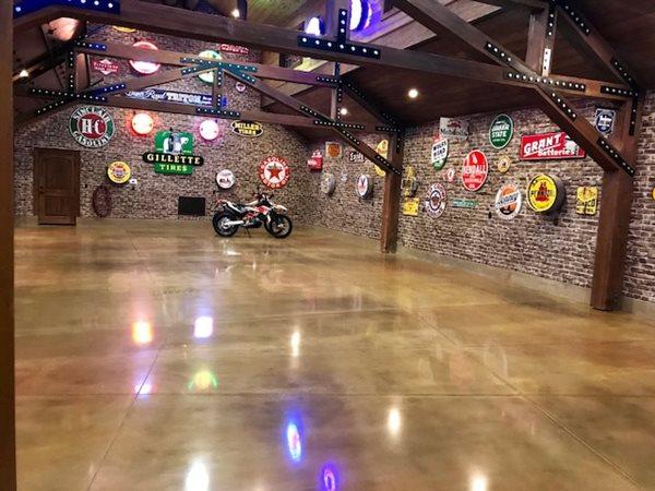 Polished Garage, Car Showroom Polished Concrete Infinity Concrete Coatings Newport Beach, CA