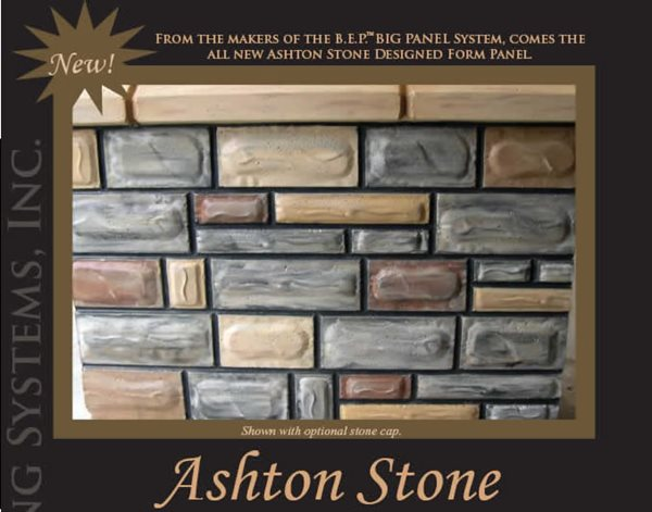 Ashton Stone Products B.E.P. Forming Systems