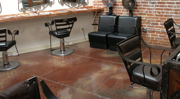 Brown Stained Floor Products Vortex Polymers Carson, CA