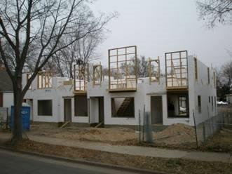 Icf Construction, City Homes Products Fox Blocks Omaha, NE