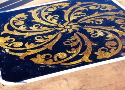Stencil Design, Stenciled Floor Products Tek Gel