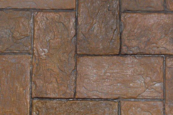Belgium Slate, Stamped Pattern Site Proline Concrete Tools Oceanside, CA