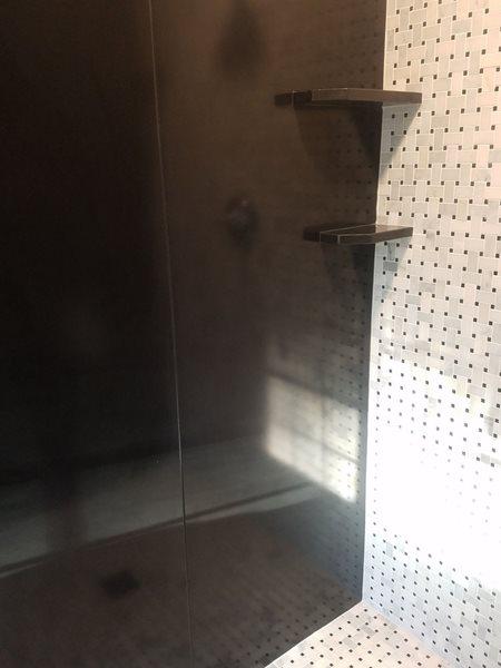 Black Shower, Wall Panels Site Marveled Designs Chatham, NY