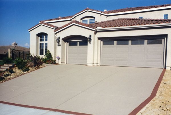 Broom Finish, Driveway Resurfacing Site Concrete Solutions Products by Rhino Linings® San Diego, CA