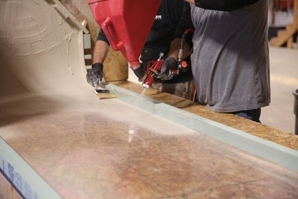 Casting Mat, Countertop Site Deco-Crete Supply Orrville, OH