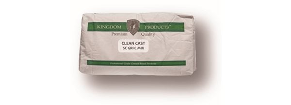 Clean Cast, Gfrc Mix Site Kingdom Products Throop, PA
