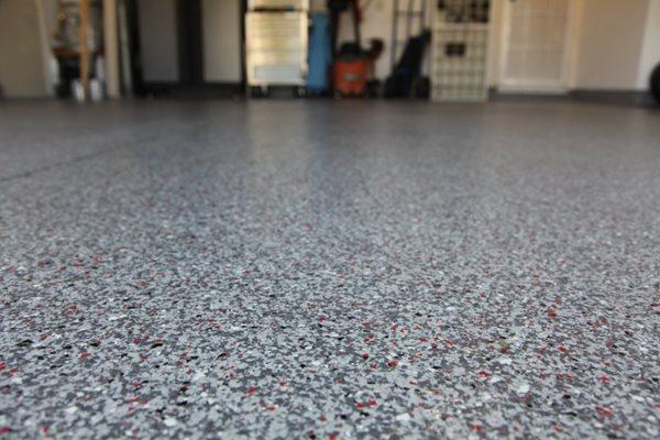 Color Flake, Terrazzo Site Concrete Solutions San Diego, CA