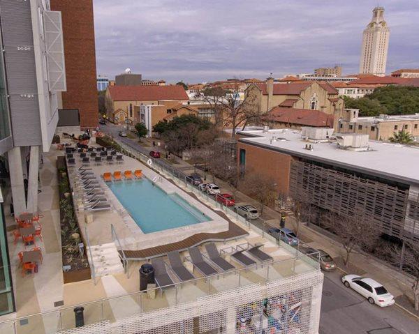 Commercial Pool Deck Austin Site Sundek Products USA, Inc. Arlington, TX