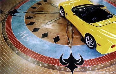 Compass, Showroom Site Engrave-A-Crete Mansfield, MO