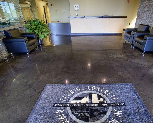 Concrete Association, Polished Site Edwards Concrete Company Winter Garden, FL
