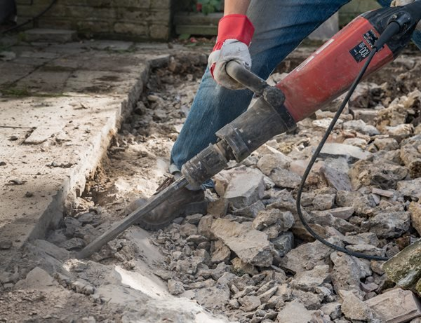 Concrete Breaking Tool Site Shutterstock