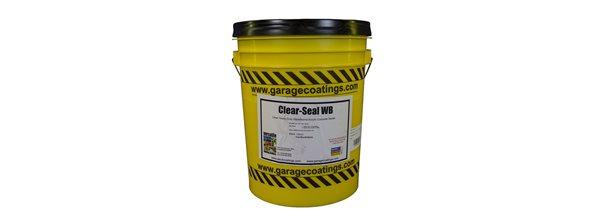 Concrete Floor Sealer, Water Based Site Versatile Building Products