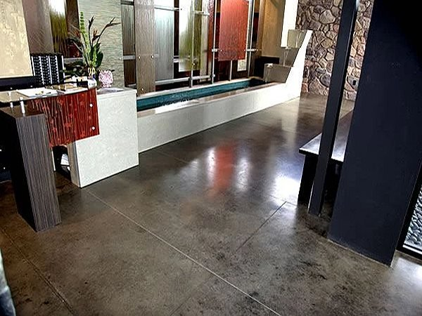 Concrete Flooring, Lobby Floor Site Big City Surfaces Inc. Circle Pines, MN