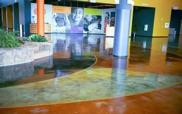 Concrete Floors Site Sundek Products USA, Inc. Arlington, TX