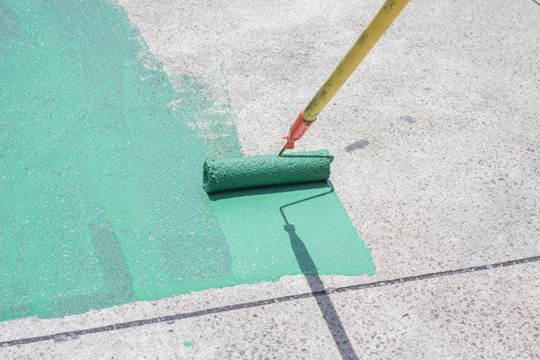 Concrete Paint, Painting Concrete Site Shutterstock