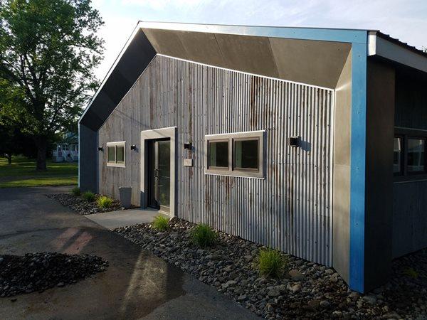 Concrete Panels, Showroom Site Marveled Designs Chatham, NY
