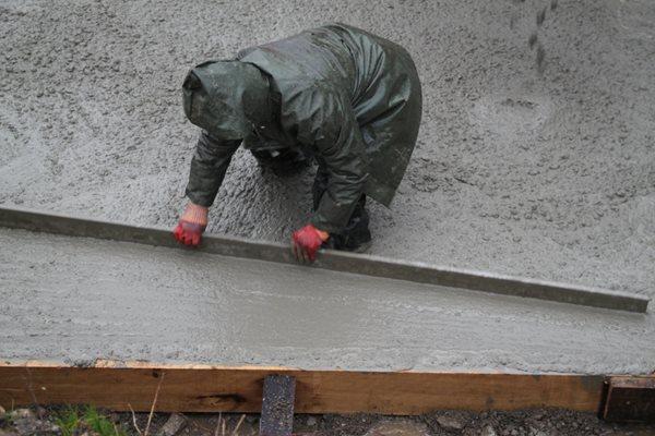 Concrete Rain, Screeding Site Shutterstock