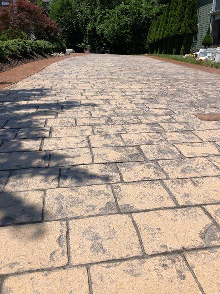 Driveway Before Site A1A Concrete Design Norfolk, VA