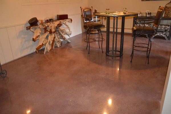 Floor One Site Liquid Stone Concrete Designs LLC Warminster, PA