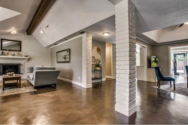 Floor Overlay, Remodel Site Concrete Studio Dallas, TX