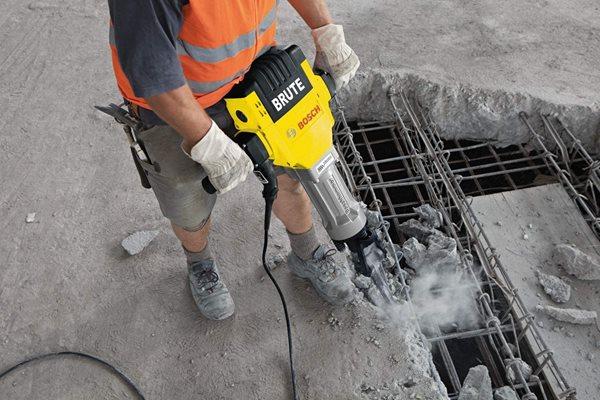 Pavement Breaker Site Bosch