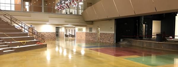 Polished Concrete, Auditorium Site ProGreen Polished Concrete Prosper, TX